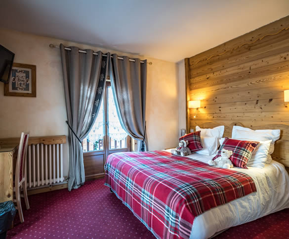Comfortable rooms in Valloire