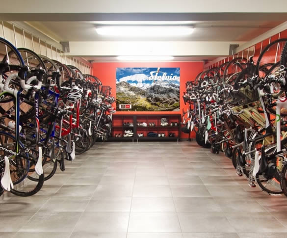 The ultimate bike room