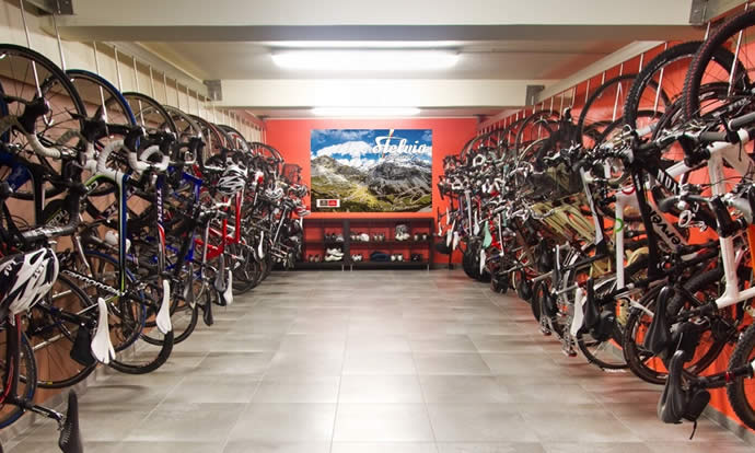 Bike room facilities and storage