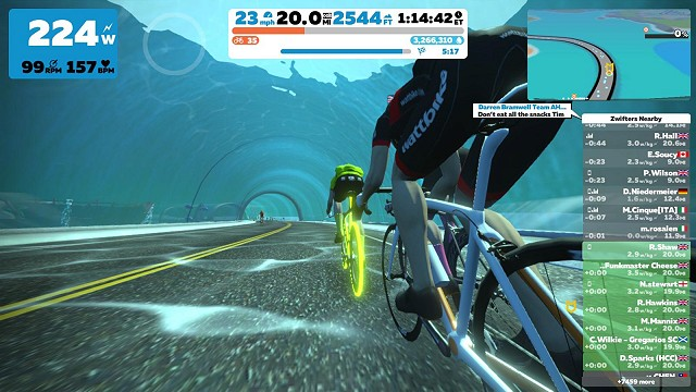 Zwift One to One Private Coaching Sessions